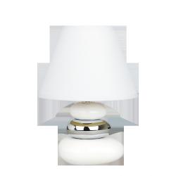 Lampka stołowa Salem, E14, 1x 40W, biała, RABALUX 4949