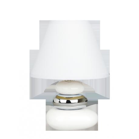 RABALUX 4949 Lampka stołowa Salem E14/1x 40W biał | a