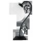 RABALUX 7812 Lampka stołowa Athen E14/1x 40W czar | na matowa