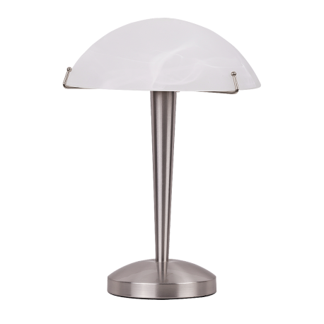RABALUX 4989 Lampka biurkowa Lucy E-14/4 0W chrom | satyna