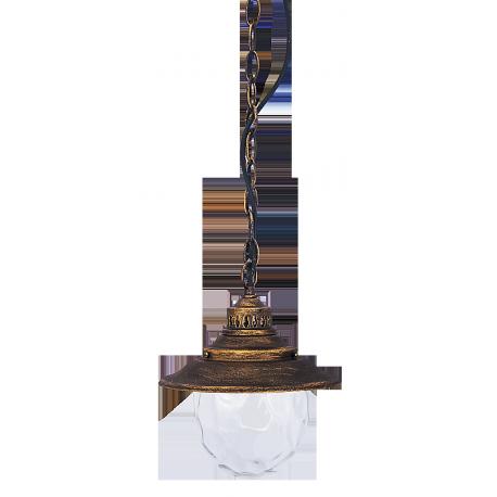 RABALUX 8678 Lampa wisząca Barcelona E27 60W zło | to antyczne