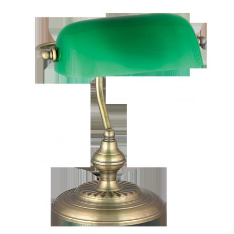RABALUX 4038 Lampka biurkowa Bank E27/1x 60W brąz |