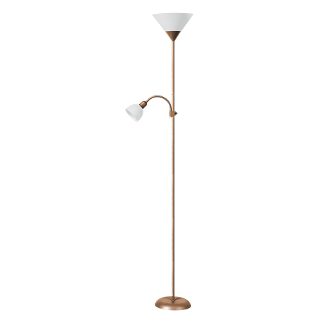 RABALUX 4065 Lampa podl. Action brąz ant yczny/bi | ały