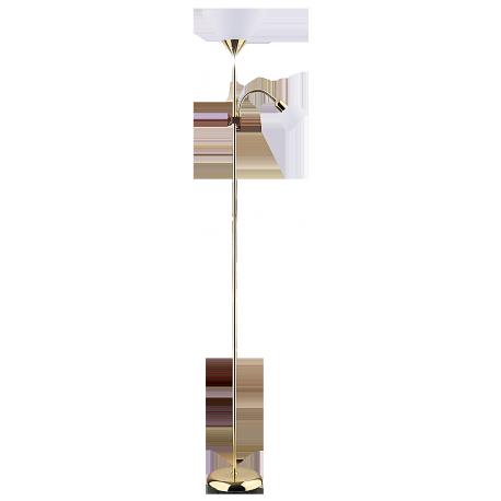 RABALUX 4060 Lampa podłogowa Action E27/ 100W+ E1 | 4/25W złoty