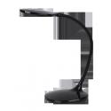 Lampka biurkowa Aiden, 42 LED, 9W, IP20, czarny, RABALUX 4319
