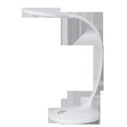 Lampka biurkowa Aiden, 42 LED, 9W, IP20, biały, RABALUX 4318