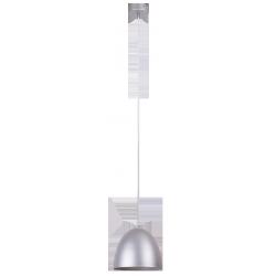 Lampa wisząca Olivia, E27, 1x 60W, 1250mm, srebrny, RABALUX 2592