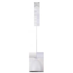 Lampa wisząca Olivia, E27, 1x 60W, 1250mm, biały, RABALUX 2590