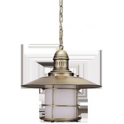 Lampa wisząca Sudan, E27, 1x 60W, mosiądz antyczny, RABALUX 7993