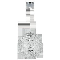 Lampa wisząca Adria, E27, 1x 60W, chrom, RABALUX 6100