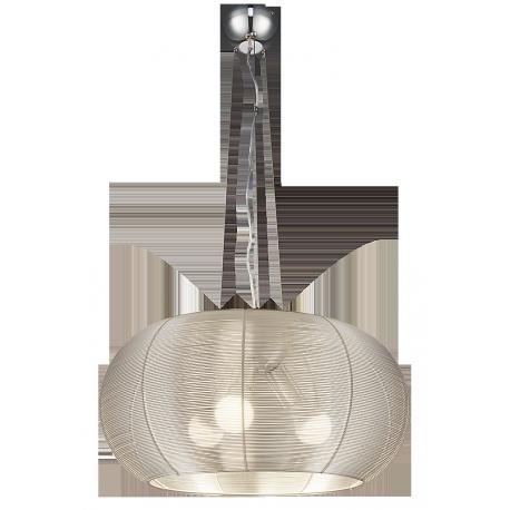 RABALUX 2884 Lampa wisząca Meda E-27/3x6 0W srebr | na