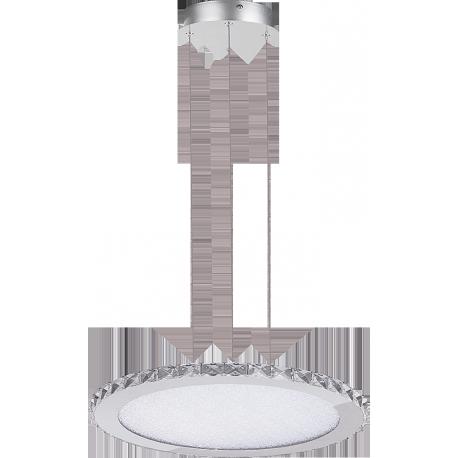 RABALUX 2453 Lampa wisząca Emma 216LED/W 1,6 chro | m