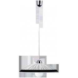 Lampa wisząca Sphere, E27, 1x 60W, 300mm, chrom-czarny, RABALUX 1859