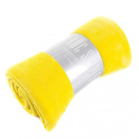Koc Simple 150x200cm żółty EUROFIRANY