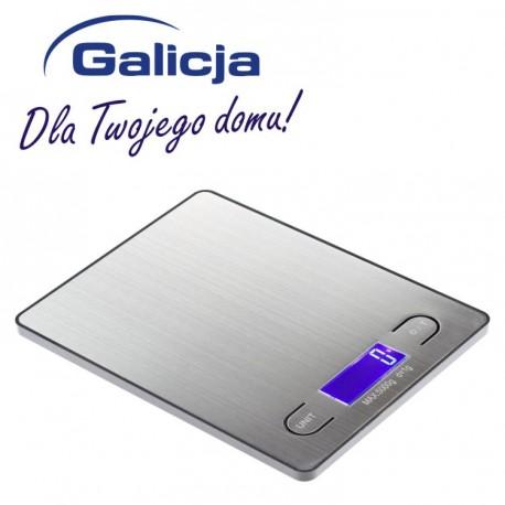 GALICJA WAGA KUCHENNA ELEKTR. 5kg INOX 7525