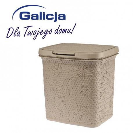 GALICJA Kosz płaski 5.5L FANCY 7685 beż