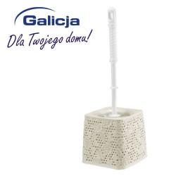 Szczotka do WC Fancy kremowa Galicja 7659