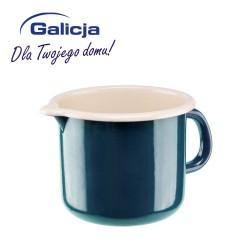 KUBEK Z DZIÓBKIEM 12cm 1,2L TURKUS GALICJA 4062