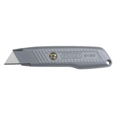 STANLEY Nóż lekki, uniwersalny, metalowy , ostrze stałe - karta