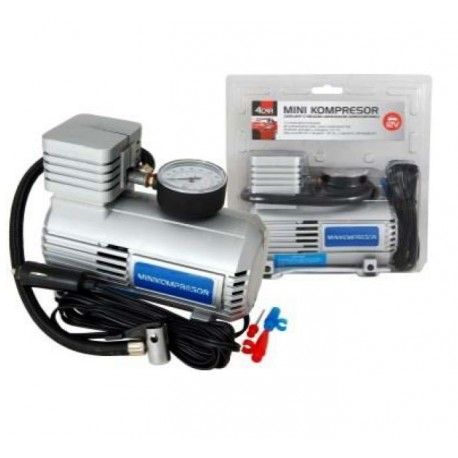 Kompresor 12V 250PSI SILVER 4car