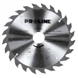 Piła tarczowa z węglikiem spiekanym do drewna 160mm 24 zęby Proline PROFIX 84162