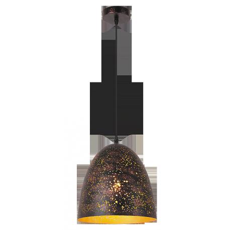 RABALUX 2560 Lampa wisząca Shane E-27 60 W efekt rdzy, złoty