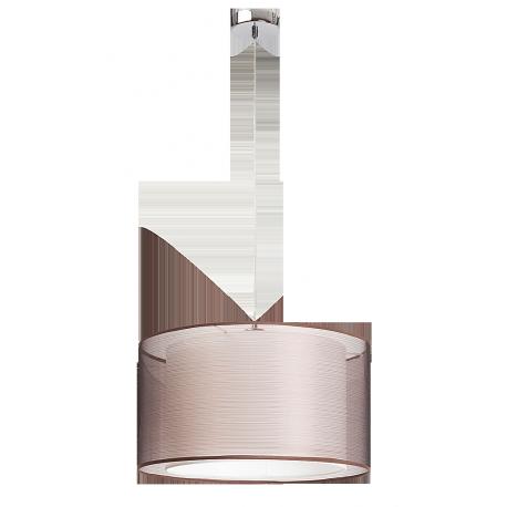 RABALUX 2632 Lampa wisząca Anasatasia E- 27, 60W chrom, brązowy
