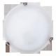 RABALUX 3202 Plafoniera AlabastroD30 E27 /1x60W b | iały/chrom