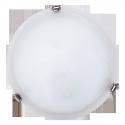 Lampa Ścienna Plafoniera AlabastroD30 E27 /1x60W biały/chrom RABALUX 3202