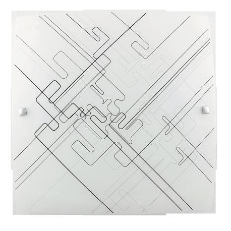 RABALUX 3292 Plafon Roger E-27 1x max. 6 0W biała/czarne