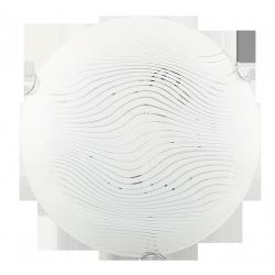 Lampa Ścienna Plafoniera Beverly E-27/1x60W biały/przeźroczysty RABALUX 3287