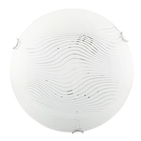 RABALUX 3287 Plafoniera Beverly E-27/1x60W biały/przeźroczysty