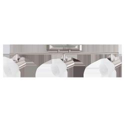 LAMPA SUFITOWA SPOT HANNAH E14 3X40W CHROM SATYNA RABALUX 6137