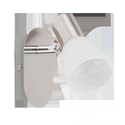 LAMPA ŚCIENNA SPOT HANNAH E14 40W CHROM SATYNA RABALUX 6135